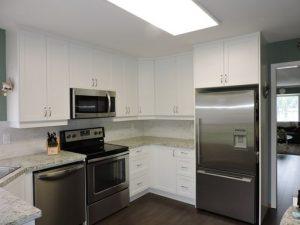 Reumken's kitchen after renovation