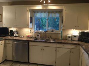 Wilkie kitchen renovation before