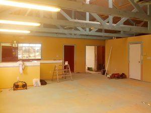 Holdfast renovation - main area in progress