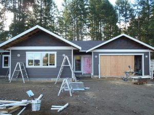 Nanaimo Lakes Road - construction almost complete by Heikess Contracting