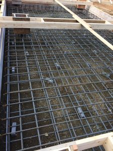 Gas plant - rebar - ready for pouring by Heikess Contracting