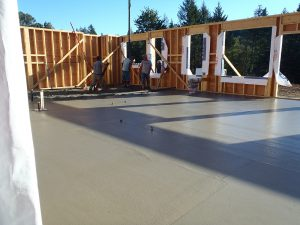 Rugg Road concrete by Heikess Contracting