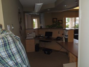 Seniors residence- new reception area by Heikess Contracting