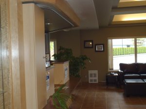 Seniors residence- welcoming entry by Heikess Contracting