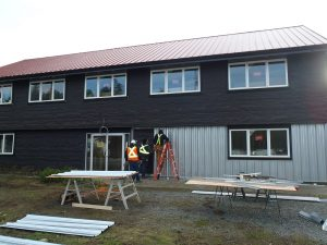 Holdfast renovation - rear siding almost complete