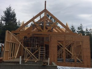 Rugg Road trusses by Heikess Contracting